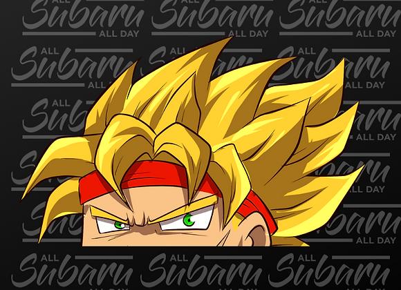 Dragon Ball Peeker SSJ Bardock
