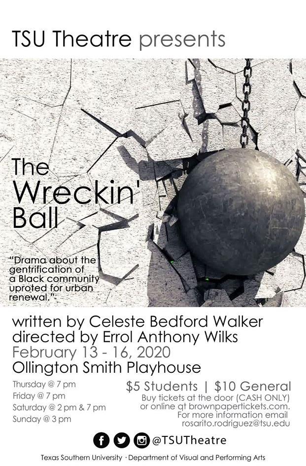 THE WRECKIN' BALL