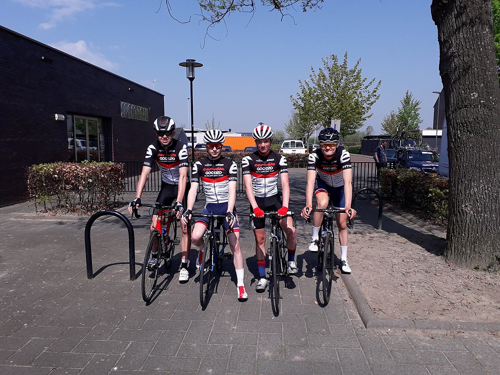 Cervelo Goodzo 4 rider team