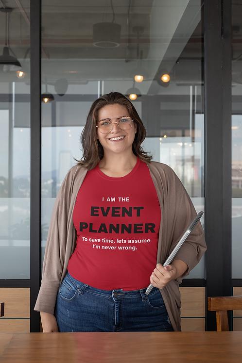 Event Planner T-Shirt 2