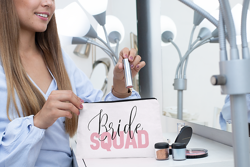 Bride Squad Make Up Bag