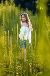 Just Bartee Model Ashely Sunflowers 2018