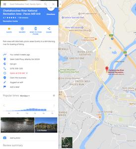 Google Maps Information