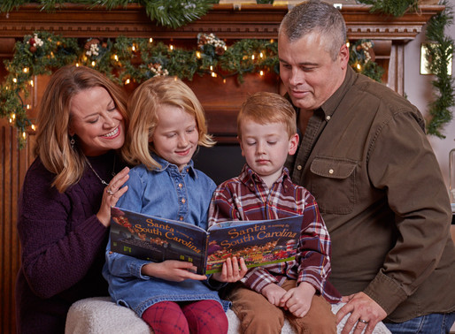 Family Christmas Card Mini Session [Family]