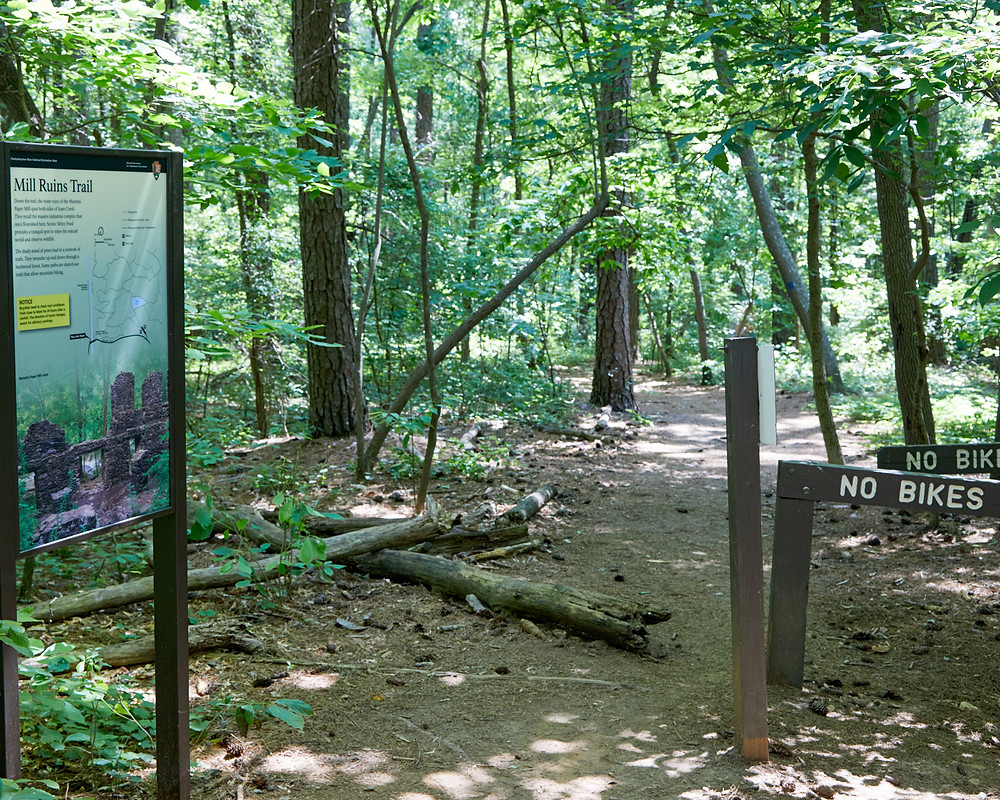 Sope Mill Ruins - Trail head