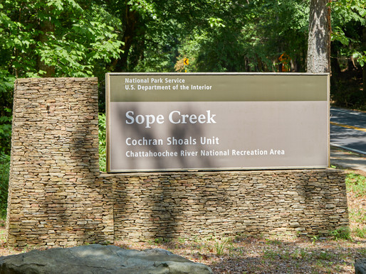 Sope Creek Mill Ruins [Location]