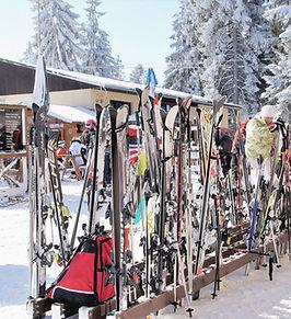 Stand de ski
