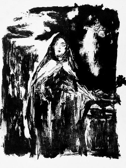 O êxtase de Santa Teresa (litografia)