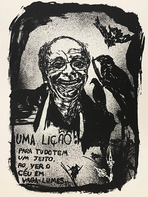 Antonio, o pai da gravura (litografia)