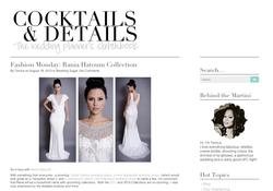 Cocktails & Details- Fashion Monday