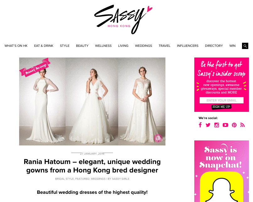 Sassy Hong Kong Feature