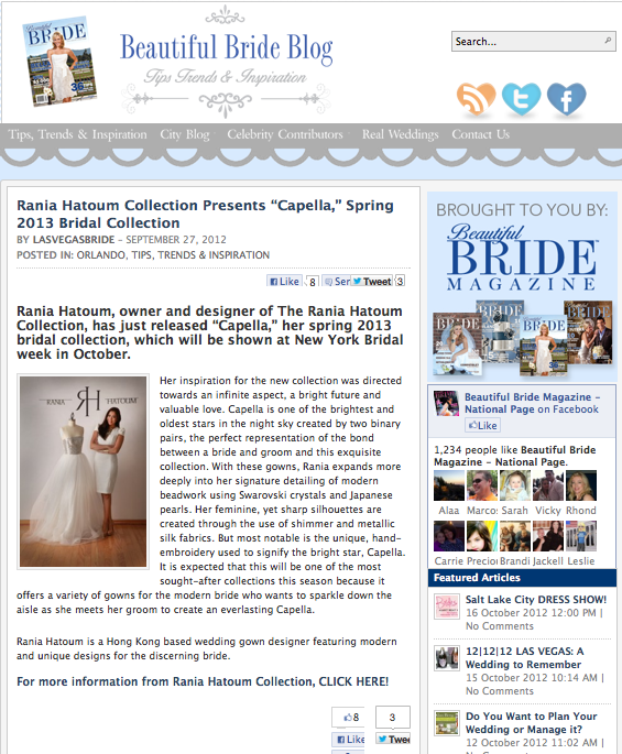 Beautiful Brides Magazine