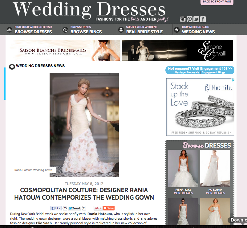 Wedding Dresses Website