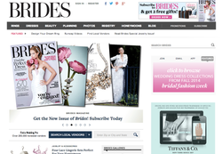 Brides Magazine Runway Feature
