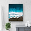 Thumbnail: Black sand beach inspired ocean artwork