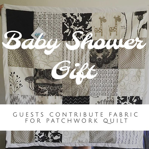 Baby Shower Gift Patchwork Quilt