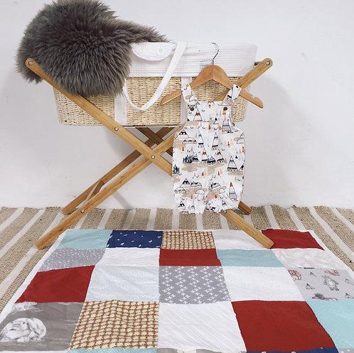 'Siena' Patchwork Quilt