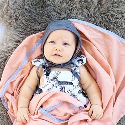 Cub Love Blush Baby Swaddle