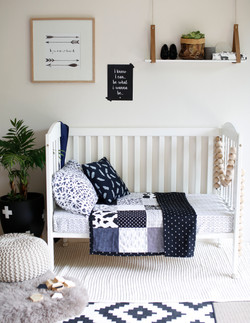 MODERN BABY PATCHWORK QUILTS
