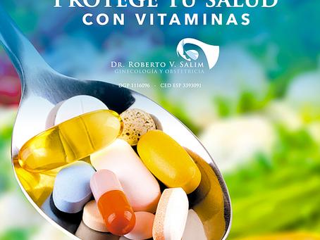 Vitaminas que deben de tomar las mujeres después de los 40 años