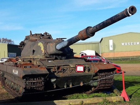 Phase 1 of 'Cold War' tank restoration project completed.