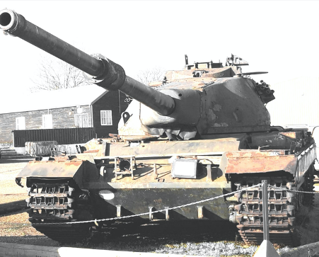 Conqueror Tank Restoration Project