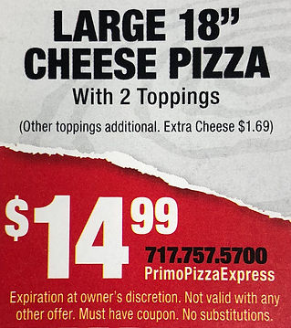 Large2ToppingPizza