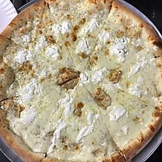 """14"""" White Pizza"""