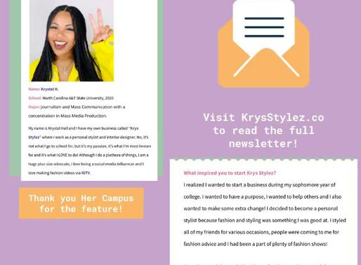 Trendsetter Spotlight via Her Campus
