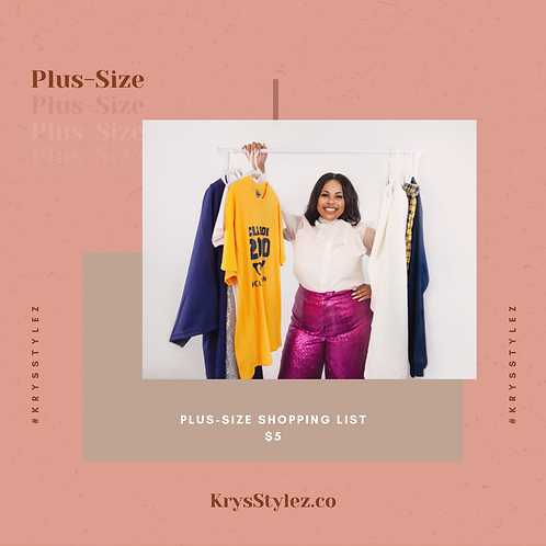List of Plus-Size Stores