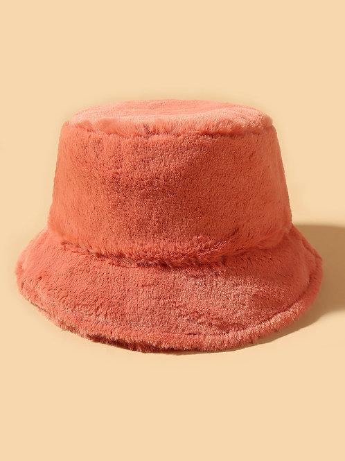 """""""Peach Fuzz"""" Bucket Hat"""