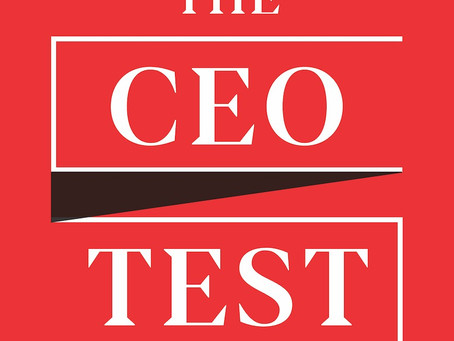 "Nell Minow Talks to Adam Bryant on ""The CEO Test"""