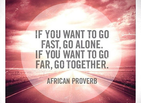 When we go together...