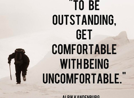 Setting comfort aside