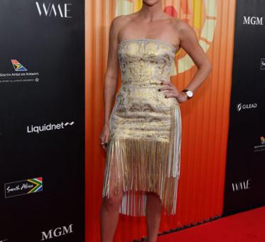Charlize Theron accidentally flashes pals while celebrating SAG Awards Nomination