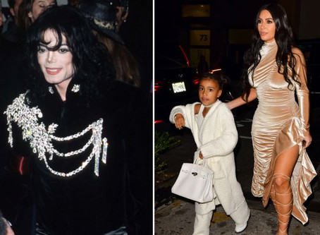 Kim Kardashian and Kanye West bought their 6-year-old daughter a $65,000 Michael Jackson jacket