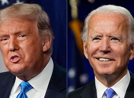 Trump: Biden is on drugs. Biden has laughed