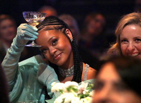 Rihanna's Fenty label won a fashion award, and she's making history