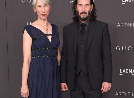Keanu Reeves goes public with new girlfriend