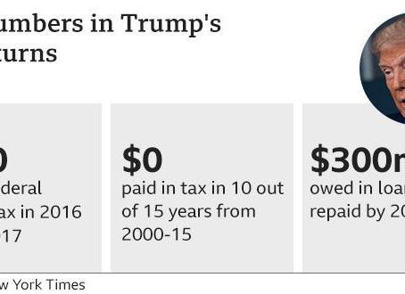 Long-hidden documents about Trump's taxes