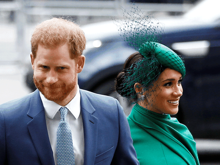 Meghan and Harry shook the golden cage of the monarchy (please God and other cages)