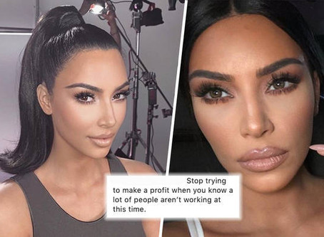 Kim Kardashian has not impressed fans with a donation to fight OCVID-19