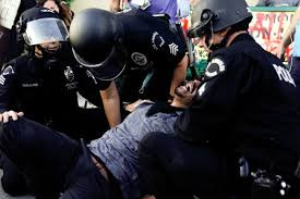 Police brutality all over the world
