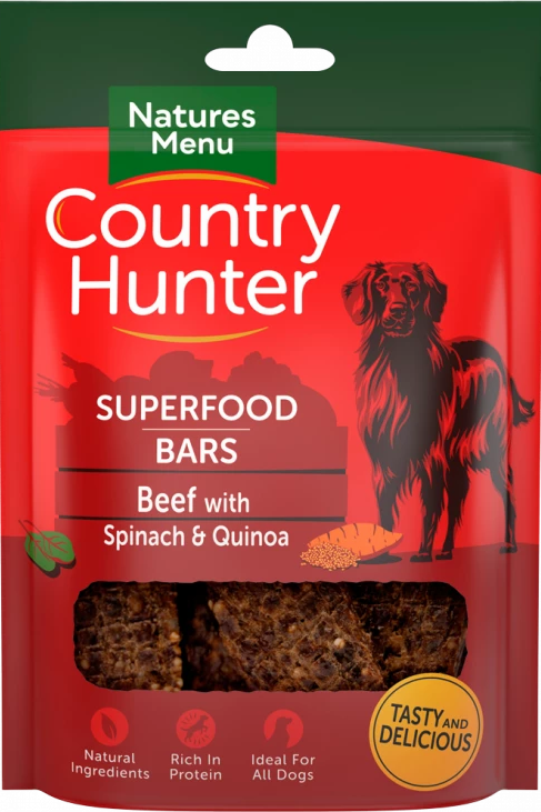 Beef With Spinach & Quinoa Bar