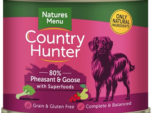 Pheasant & Goose with Superfoods