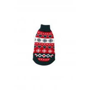 Polo Neck Xmas Jumper 8''