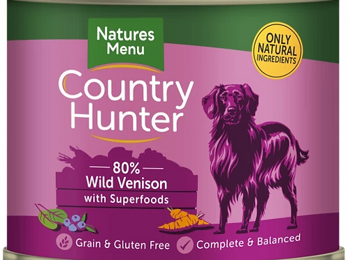 Wild Venison with Superfoods