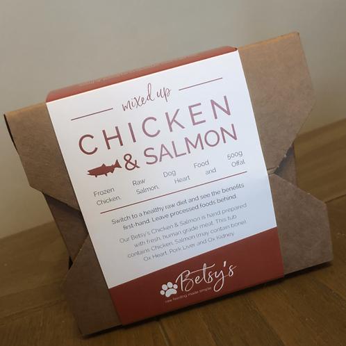 Betsy's Chicken & Salmon