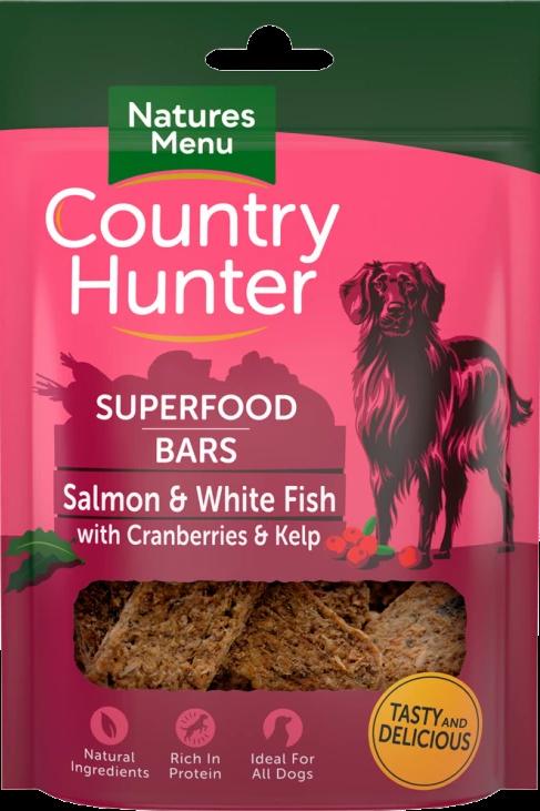 Salmon & White Fish With Cranberries & Kelp Bars