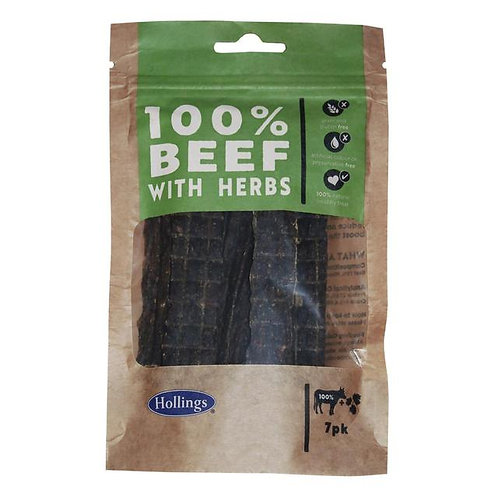 100% Beef with Herbs